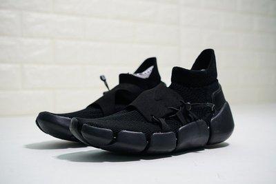 [ HOPE ] NIKE Footscape Flyknit DM 慢跑鞋 全黑 機能 飛織 運動