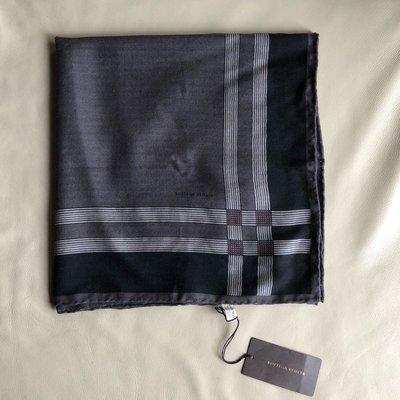 [熊熊之家3]保證全新正品 Bottega Veneta BV 黑和咖啡 100% cashmere 圍巾 領巾