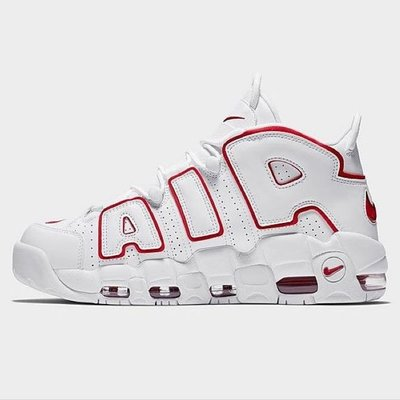 R'代購 2021 Nike Air More Uptempo PIPPEN 96 Renowned Rhythm Red 大AIR 白紅 921948-102
