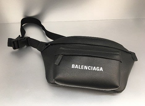 [ 羅崴森林 ] Balenciaga SS19 Everyday Logo Belt Bag巴黎世家皮革LOGO包