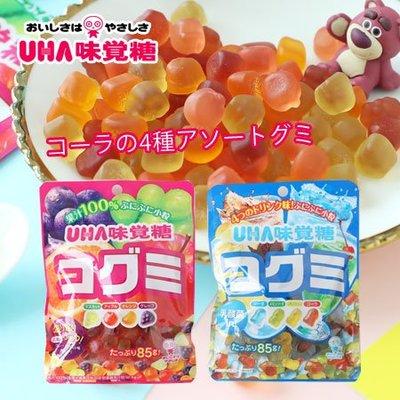 日本 UHA 味覺糖 酷Q彌軟糖 85g 軟糖 水果軟糖 汽水軟糖 糖果 QQ軟糖 日本軟糖【SA Girl】