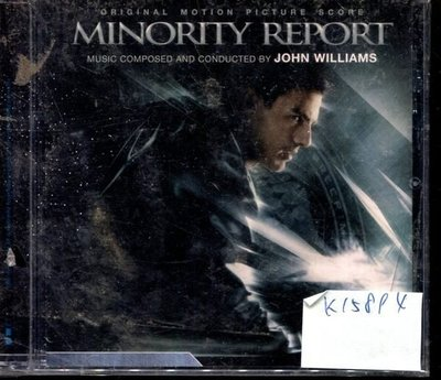 *真音樂* MINORITY REPORT 全新 K15894