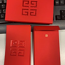 Givenchy  2020 CNY  Laisee red packets  利是封 8 個