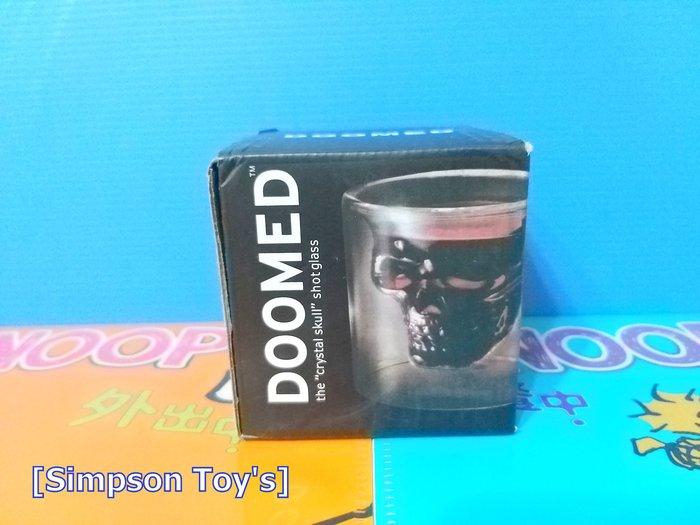 【辛普森娃娃屋】美國禁錮海盜雙層 整人玩具 骷顱頭 酒杯 變色 玻璃杯