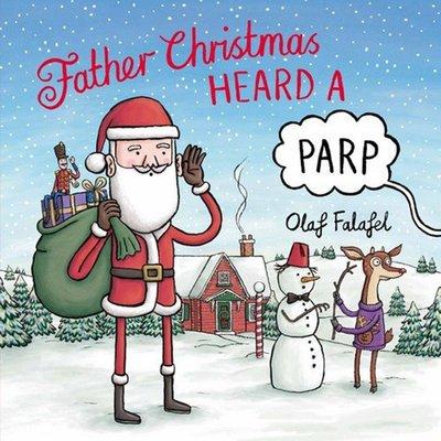 圣誕老人聽到一個聲音 英文 Father Christmas Heard a Parp 圣誕故事繪本 3-8歲