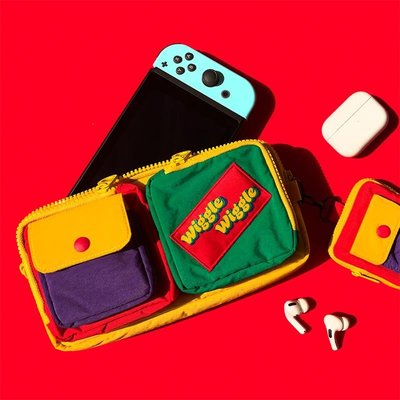 {yes.時尚館} WIGGLE WIGGLE尼龍多功用包SWITCH保護套收納包便攜數碼收納包袋W6B1