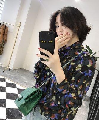 《巴黎拜金女》面料巨贊紮染配色繫帶襯衫