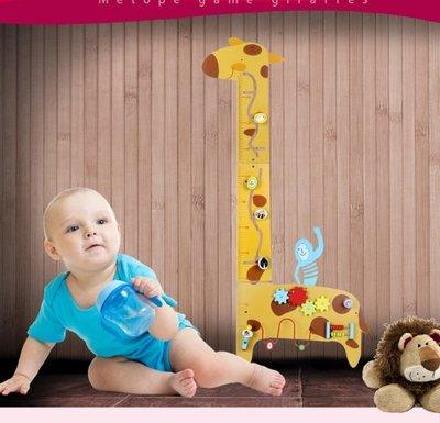 【晴晴百寶盒】木製多功能長頸鹿牆面遊戲 寶寶过家家玩具 角色扮演 積木 秩序智力提升 練習 禮物 平價促銷 P085