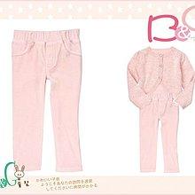 【B& G童裝】正品美國進口Crazy8 Velour Skinny Pant 粉紅色絨質長褲2yrs