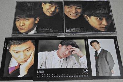 原版二手 CD 劉德華-永遠愛你( 雙 CD 紙盒版 + 寫真月曆6張)