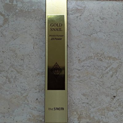 現貨 The SAEM  GOLD SNAIL Wrinkle Plumper 2X Power 黃金蝸牛雙倍抗皺精華