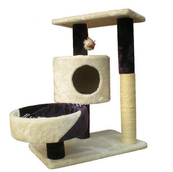 小型貓爬架XY-B103貓樹貓抓板柱貓玩具貓窩跳臺