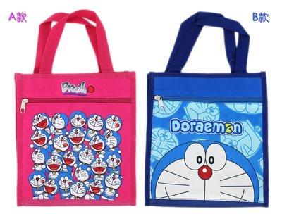 【卡漫迷】 Doraemon 手提袋 二款選一 ㊣版 哆啦 小叮噹 多啦A夢 餐袋 便當袋 手提包 防水 才藝袋 禮物袋