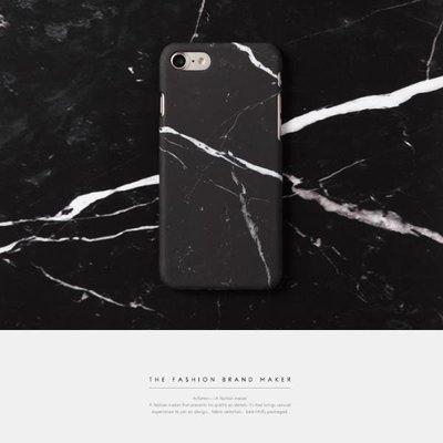 TST-|創意新款IPhone7手機殼簡約大理石圖案手機保護殼潮搖滾設計簡約男女4.7吋非APE 藤原浩  BAPE