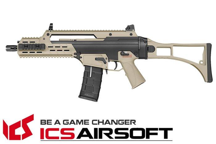 【翔準軍品AOG】ICS AARF(雙色)輕量化折疊托 長槍 電動槍 步槍 生存遊戲 IMD-333-1