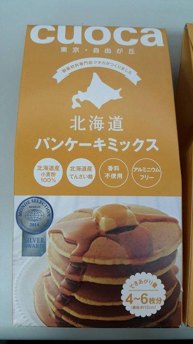 *LUCY 日韓生活館*日本北海道 CUOCA 鬆餅粉200g