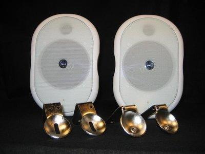 造型喇叭 白黑2色 商業空間專用  SHOW CSB 40T  高低阻抗二用  40瓦W 單隻售價