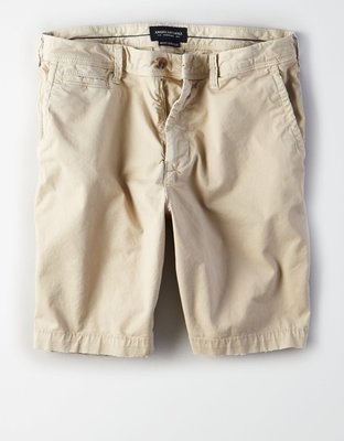 (BJGO) AE NE(X)T LEVEL SLIM FIT 9 KHAKI SHORT 美式休閒卡其短褲現貨30