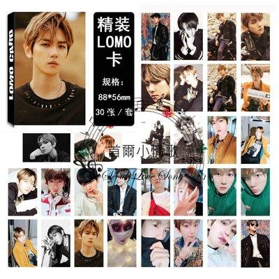 【首爾小情歌】EXO EXODUS 伯賢 Beakhyun 個人款#06 LOMO 30張卡片 小卡組