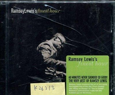 *真音樂* RAMSEY LEWIS'S FINEST HOUR 全新 K26313