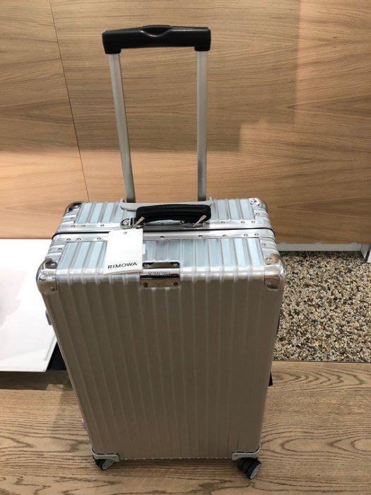 預貨含運 RIMOWA CLASSIC Check-In M 新款27吋託運行李箱,送保護套。