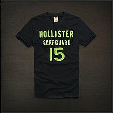 Hollister 15字母款式,美國海鷗男士短袖T恤纯棉休閒T恤 【HCO全新品】