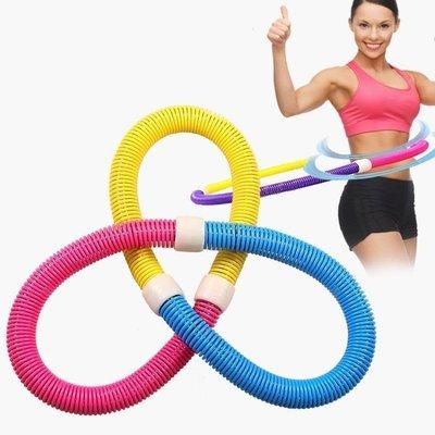 哆啦本鋪 呼啦圈女大人收腹軟彈簧加重兒童健身圈呼拉圈 D655