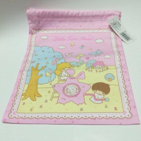 Little Twin Stars Kiki&Lala (絕版款)精美日製束口袋