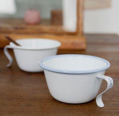 日本Homestead經典可堆疊琺瑯杯咖啡杯