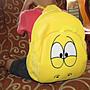 ///可愛娃娃///~中型正版韓國卡通 LARVA 逗逗蟲造型雙層後背包---約33公分