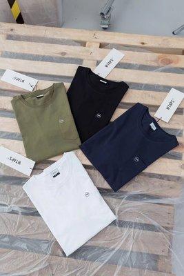 【傑森精品】WTAPS 19年 基本款 純棉 口袋款 寬鬆 短袖T恤 Tee 特價