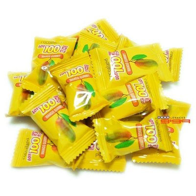 【吉嘉食品】馬來西亞一百份(100份)芒果QQ軟糖 600公克[#600]{FE01-25}