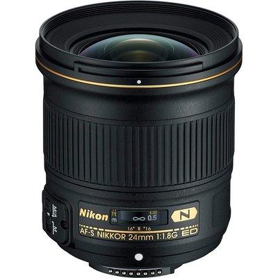 【高雄四海】Nikon AF-S 24mm F1.8G ED N 全新平輸.一年保固.超值廣角大光圈.F1.8 G.