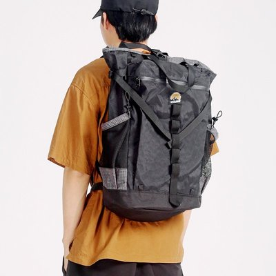 木林森MYE×XS日本戶外潮牌山系卷口大容量雙肩背包登山包男女旅行徒步