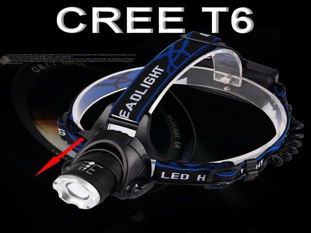 CREE XML-T6 焦距可調 釣魚燈 釣魚頭燈 抓魚燈 捕魚燈 野採 東引 上礁