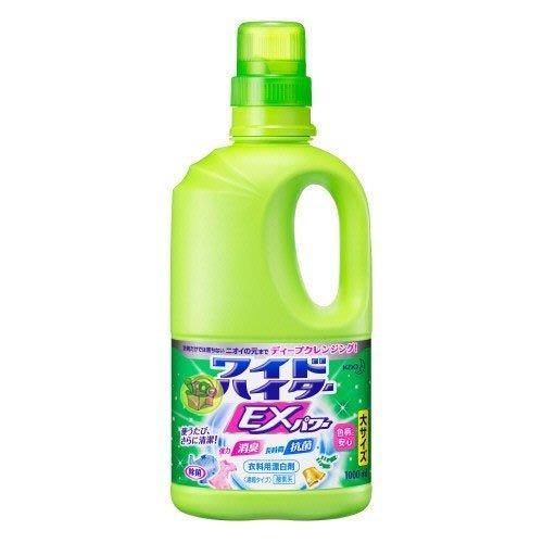【JPGO】超取最多三罐~日本進口 kao花王 彩色衣物EX漂白劑 漂白水 1000ml #615