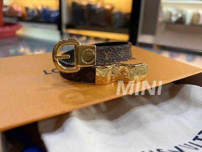 ::MINI名牌精品店::LV M6170F 17CM  FASTEN YOUR LV 手環 磁鐵 鉤扣造型 全新