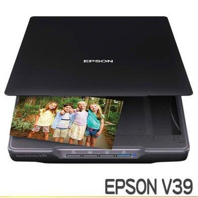 【強強二手商品】EPSON Perfection V39 輕薄照片 / 書本掃描器