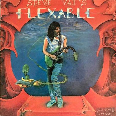 ##重金屬  全新進口CD  Steve Vai's - Flex-Able (80's /Guitarist)