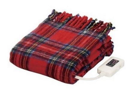 日本製【椙山紡織NAKAGISHI】電熱蓋毯140x82cm NA-055H-RT