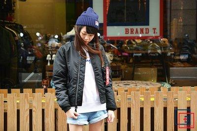 【Brand T】日版 ALPHA INDUSTRIES MA-1 TIGHT 女版*黑色*合身窄版*飛行外套*MA1