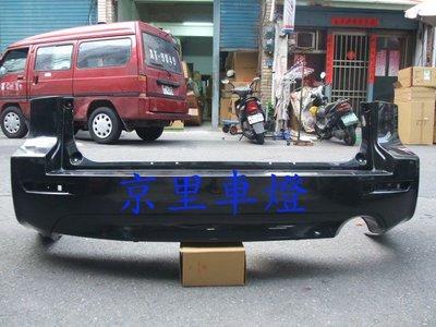 京里車燈專網 本田 HONDA CRV 3.5代 10 11 12年 MODULO 後保桿 後大包 ABS塑膠材質