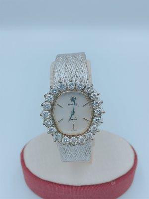 【立勝當鋪】ROLEX勞力士 3克拉 白K 女錶 古董錶 編號V00048