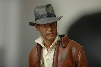 【烏龍1/2】sideshow ps3 祕境探險 法櫃奇兵 Indiana Jones  印地安那瓊斯 pf 雕像 外套改色 限量版