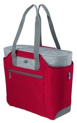 德國 alfi 愛麗飛 isoBag 多功能時尚保鮮提袋/保溫袋/保冷袋 BD-812-RD 23L-紅色超取 離島