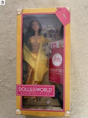 九州動漫芭比 Barbie India Passport 2012 印度 護照系列  現貨