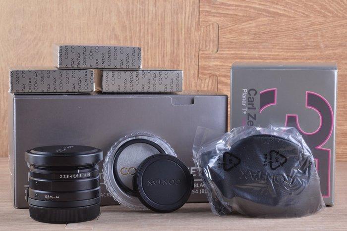 【品光攝影】Contax Planar Carl Zeiss T* 35mm F2 G鏡 黑色 EI#40661