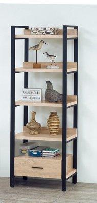 【浪漫滿屋家具】(Gp)548-3 原切橡木2尺書櫃