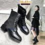 *☆╮弄裏人佳 大尺碼鞋店~ 34- 43 韓版 英倫...
