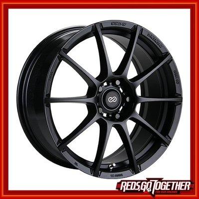 【凱達輪胎鋁圈館】經銷專賣 ENKEI SC33 平光黑 消光黑 18吋 放大效果極佳 搭胎更優惠 尺寸規格孔數 歡迎詢問